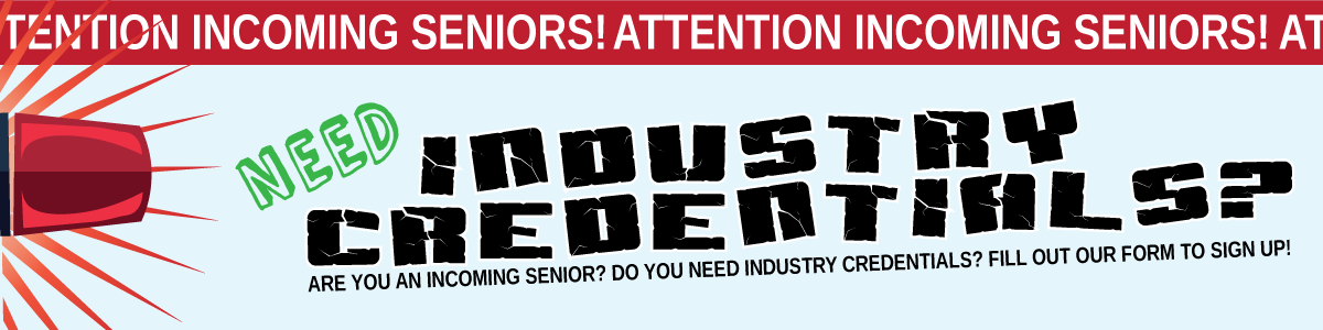 Need Industry Credentials?